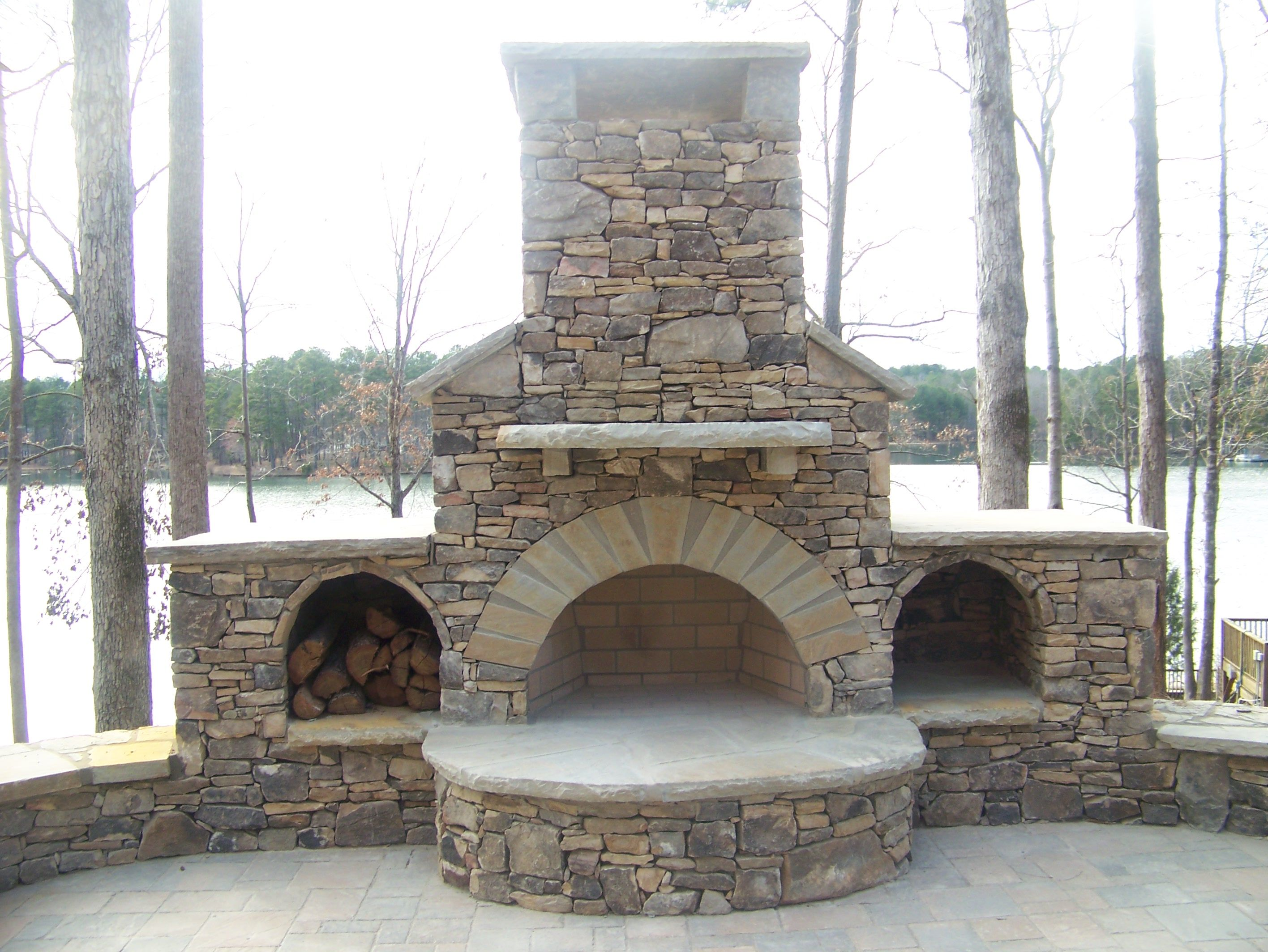 8bf7155ad89e99f519dca38aa8d9e37d Top Result 50 Awesome Pre Made Outdoor Fireplace