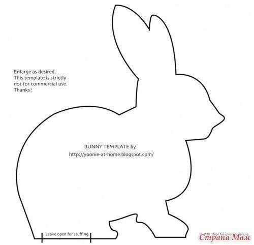 Conejos de tela con patrones   Pinterest   Conejo, Tela y Patrones
