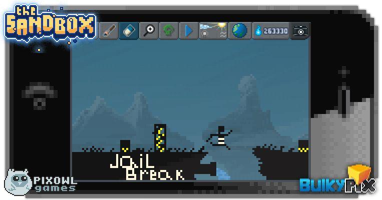 Jail Break time pixelart sandbox pixel art ios