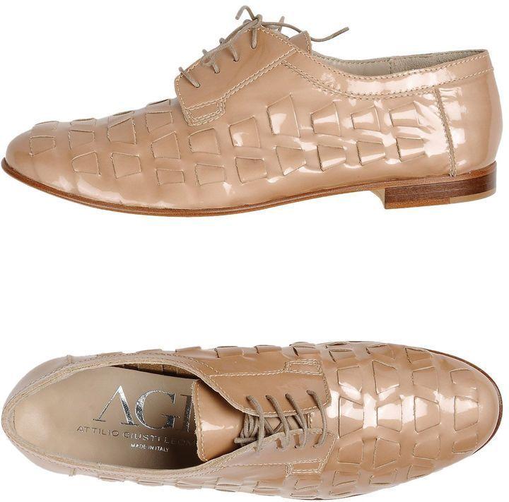 AGL ATTILIO GIUSTI LEOMBRUNI Lace up sneakers jk4bWhpzlW
