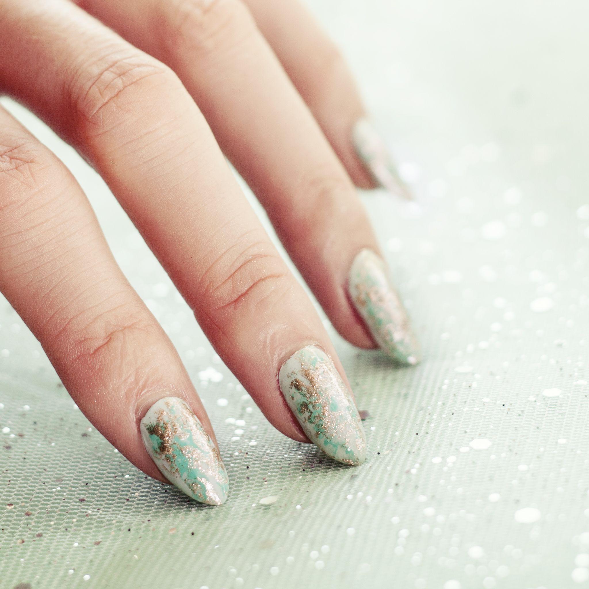 Aluminium Foil Nails Nail Art Tutorial A Very Easy Nail Tutorial