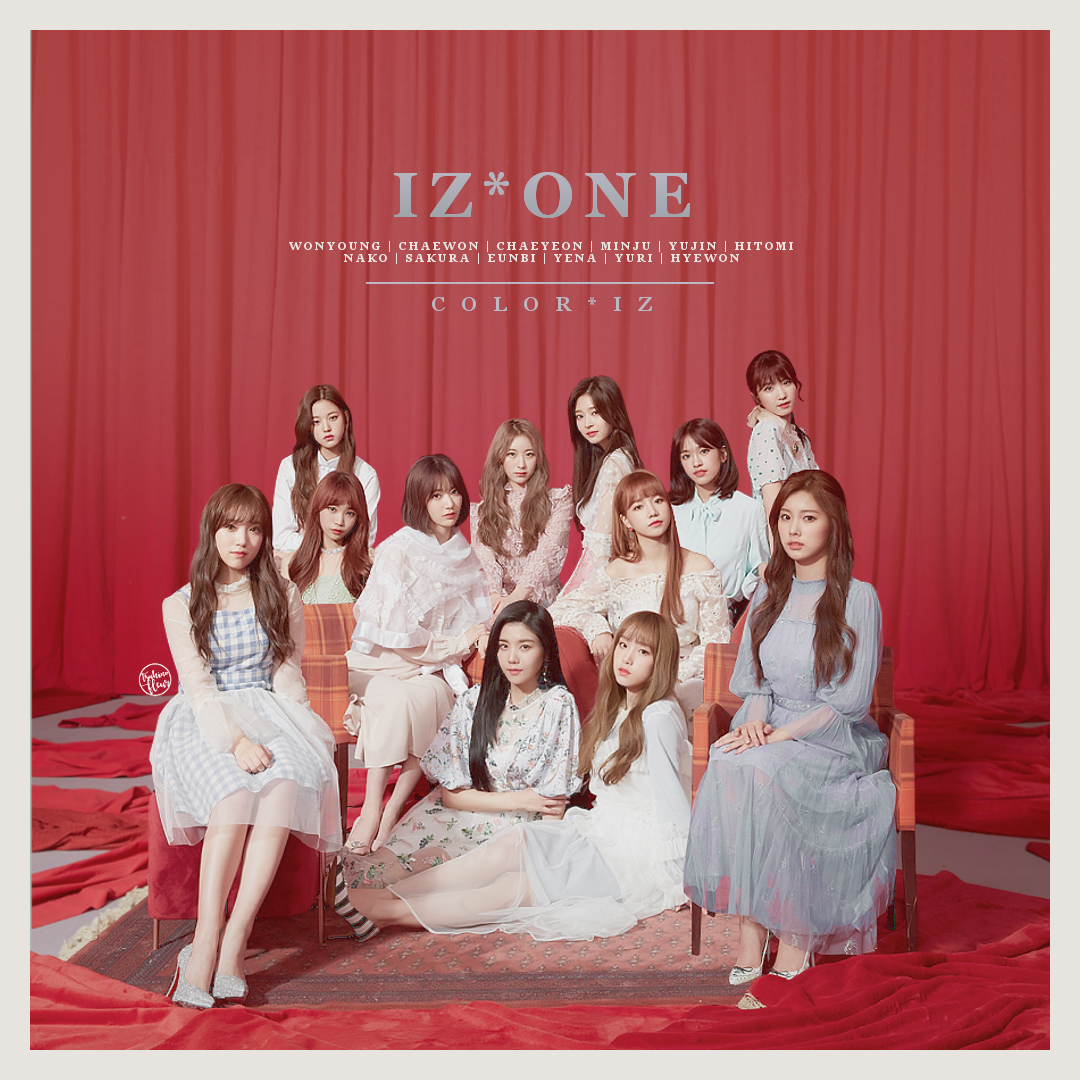 IZONE / COLORIZ by TsukinoFleur | album art in 2019 | 3 in