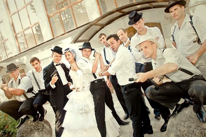 diy gangster themed wedding on the following gangster