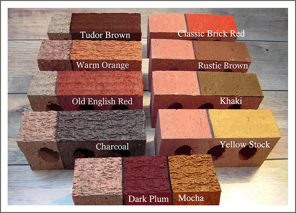 The Color Stain For Brick Stained Brick Exterior Brick Exterior Paint Colors For House