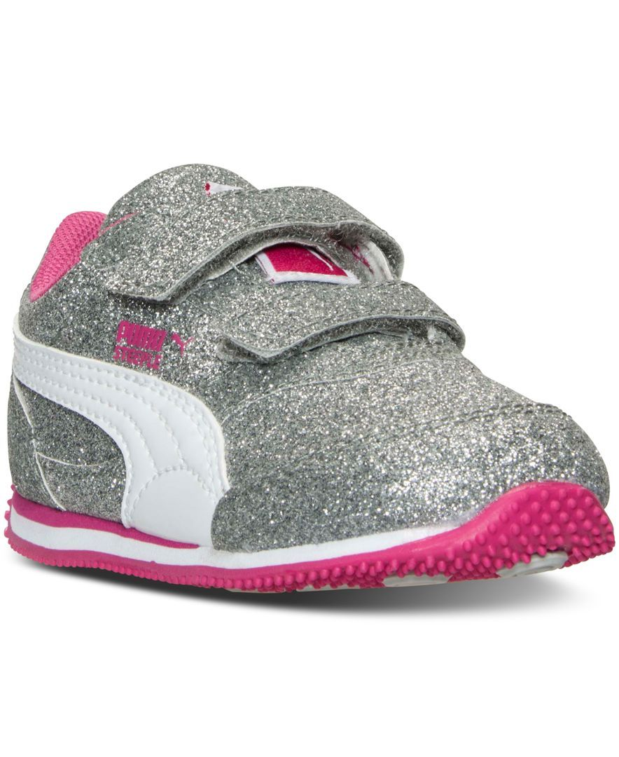 Puma Toddler Girls  Steeple Glitz Casual Sneakers from Finish Line ... f9d577620