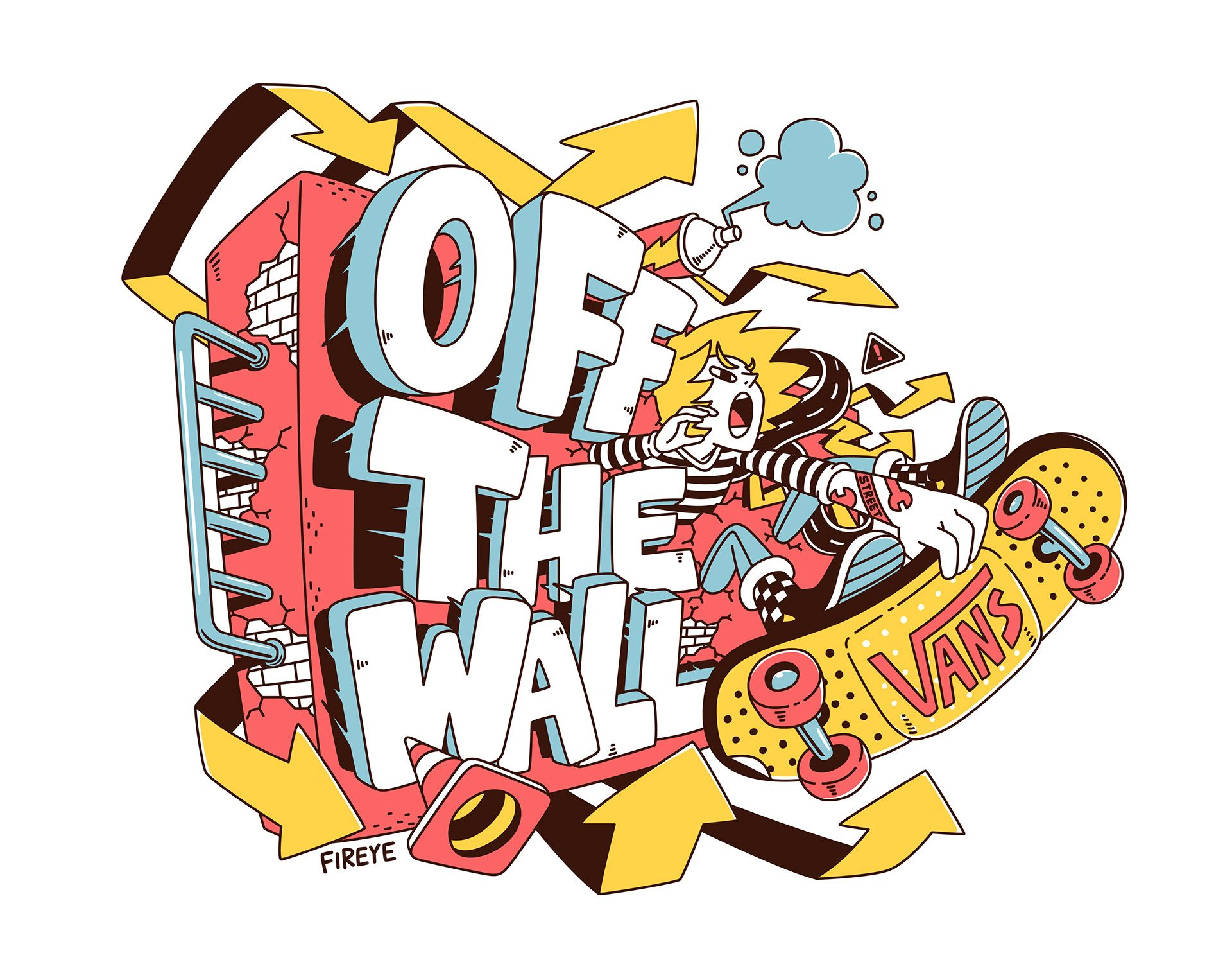 off the wall on behance skateboard art art logo on off the wall id=38235