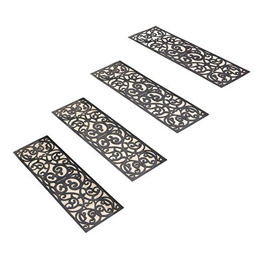 Best Skid Resistant Butterfly Stair Traction Treads Set Of 4 400 x 300