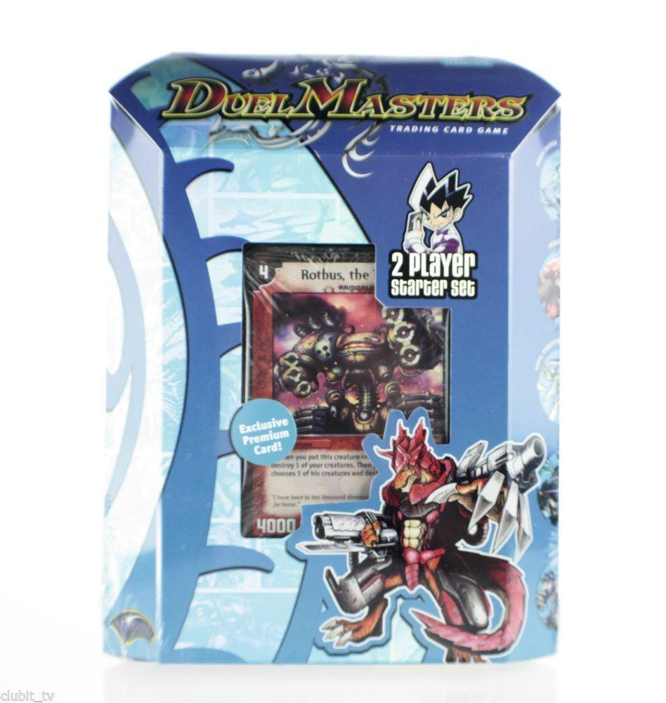 Duel masters dm01 trading card game 2 player starter set