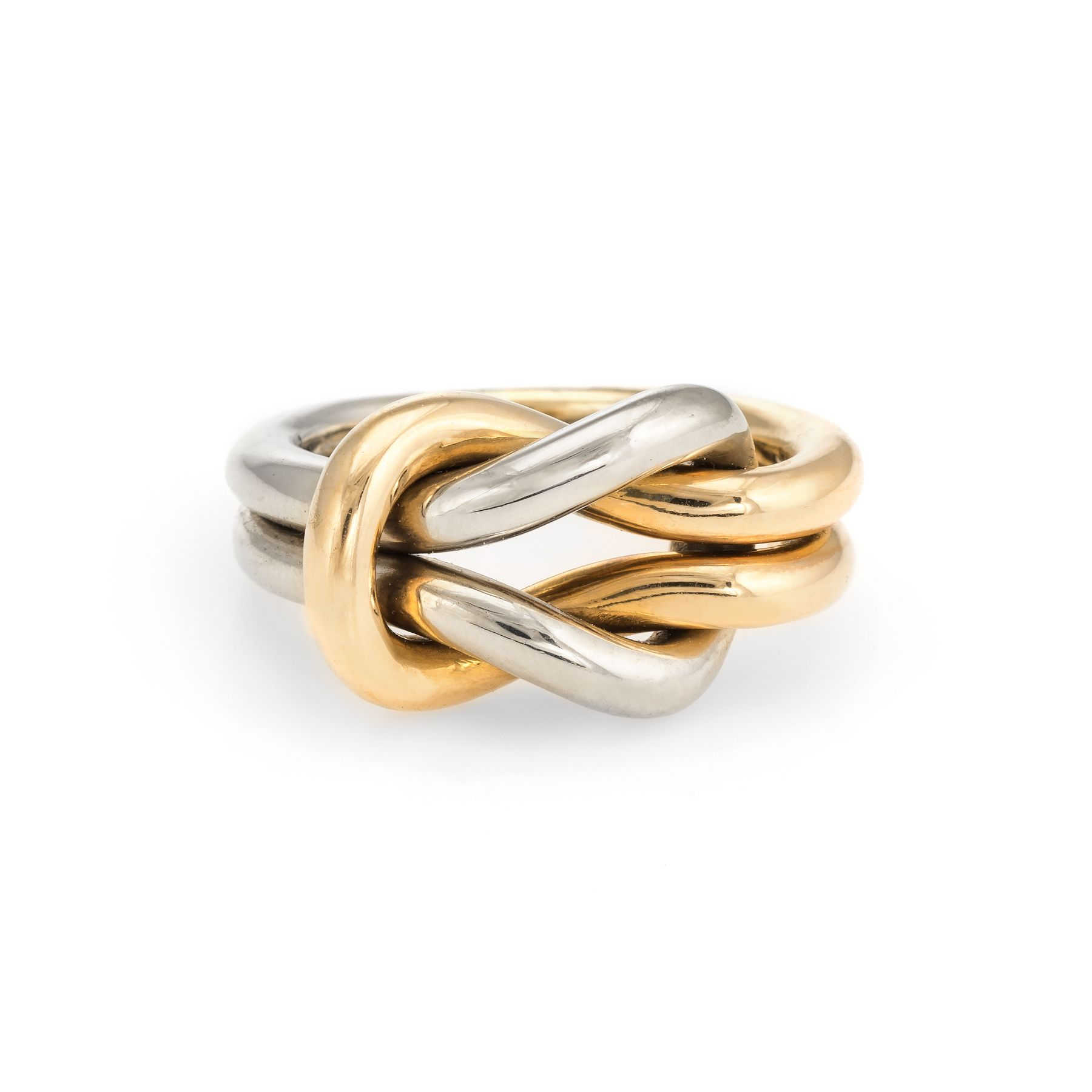Jewel Tie Solid 14k Rose Yellow /& White Gold 15 Years Birthday Heart Ring Size 8.5