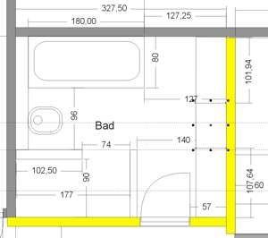 Grundriss_badezimmer | icke | Pinterest | Grundrisse, Badezimmer und ...