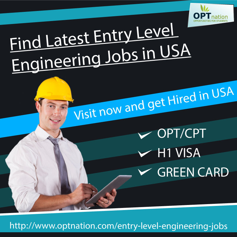 Find all the latest jobs for engineering students in USA