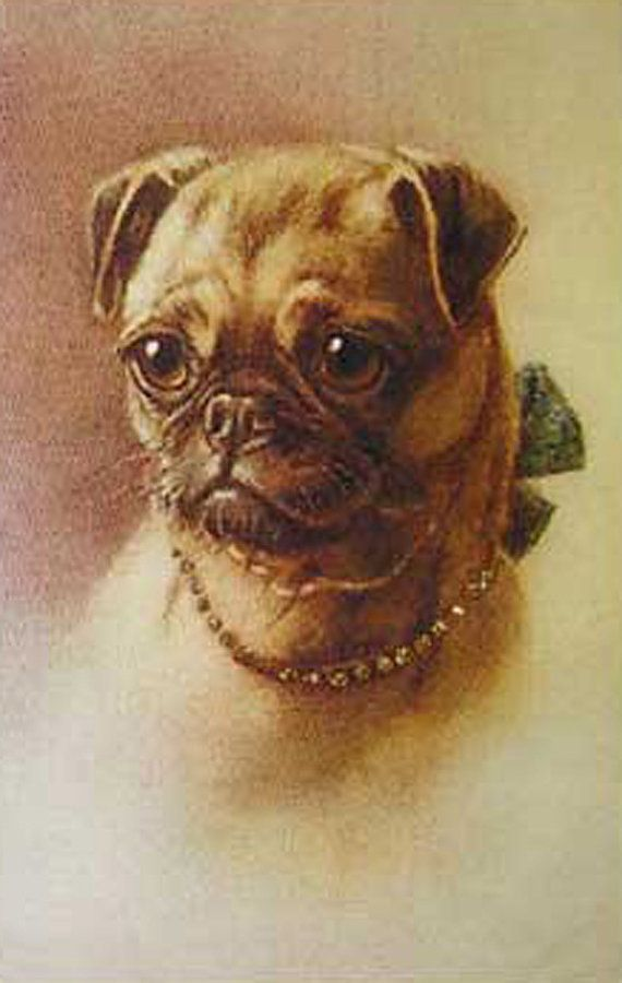 Antique Sepia Pug Photo Decoupaged On Wood Etsy In 2020 Pug Photos Pug Pictures Pugs
