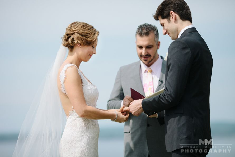 Ben Aaron and Ginger Zee wedding