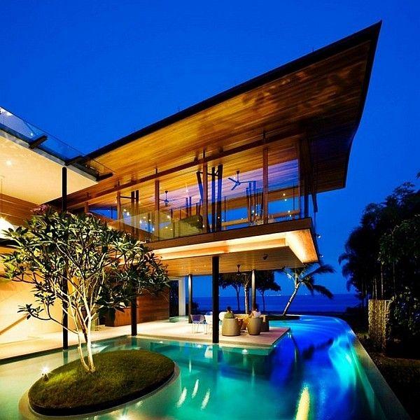 Erstellen Sie eine Hinterhof-Oase: 26 Sleek Pool Designs #backyardoasis