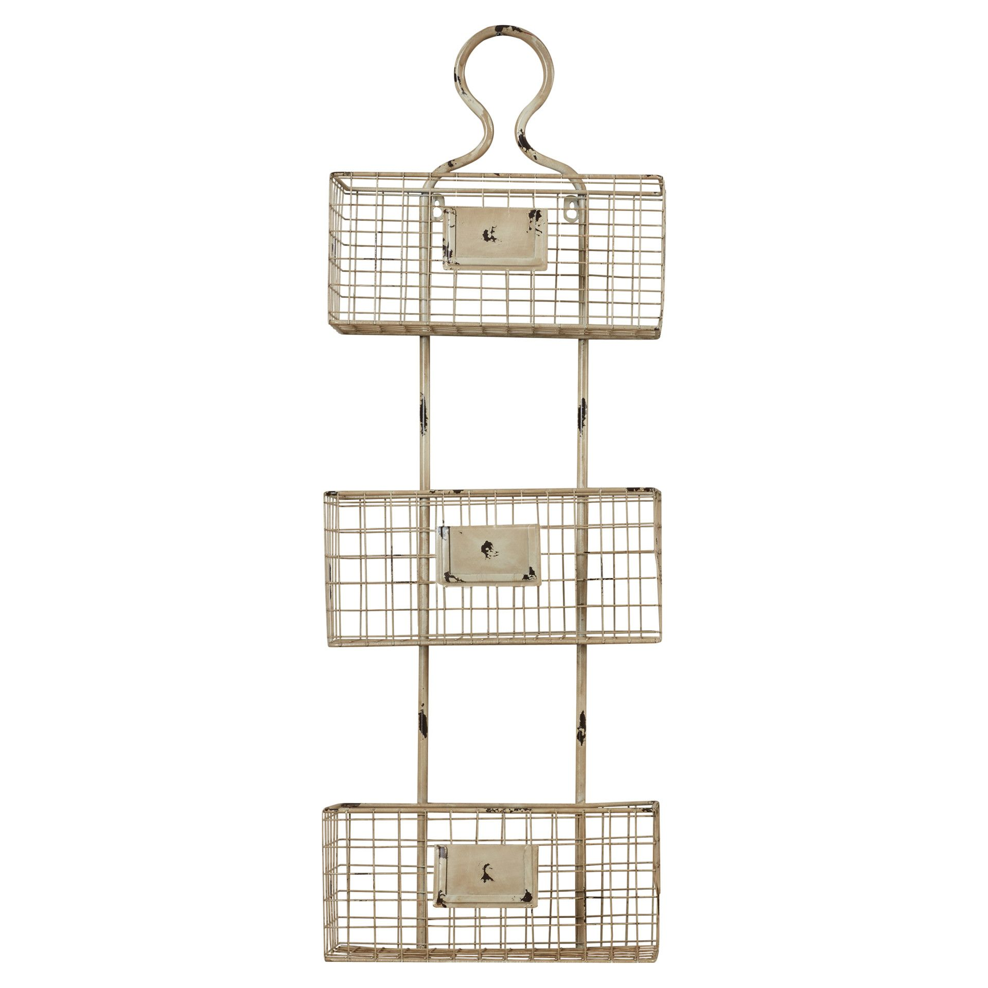 Lark Manor 3 Tier Wire Basket Wall Shelf Baskets On Wall Basket Shelves