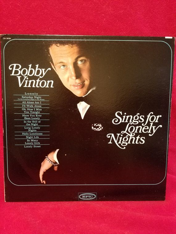 Bobby Vinton Sings For Lonely Nights' by TheVintageRecordStop