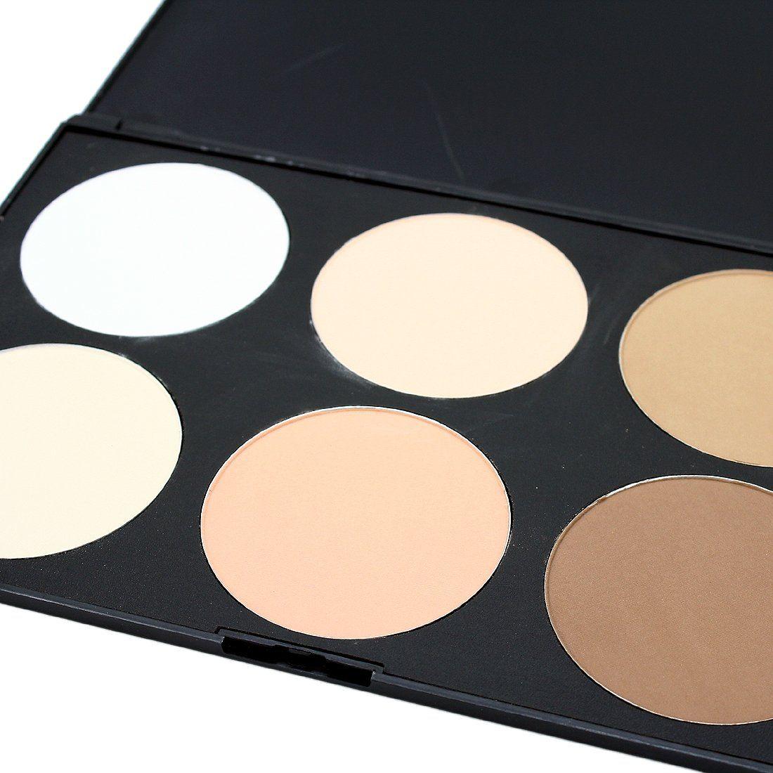 Pro 6 Color Contour Face Powder Matt Palette Makeup Kit