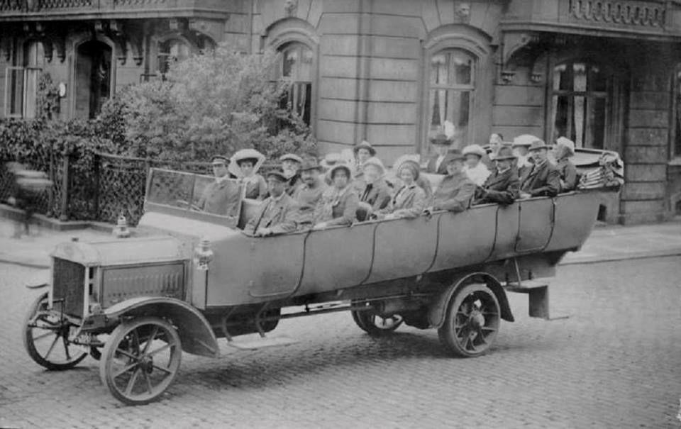 1912 Washington DC tour bus