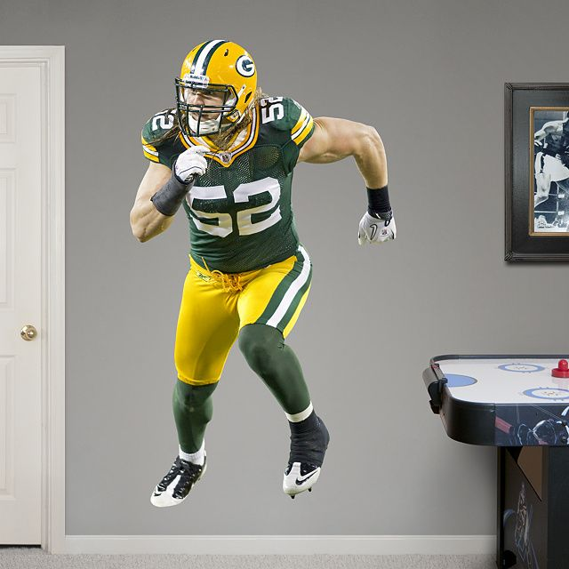NFL Green Bay Packers From Fathead Make A Bold Statement That Cheap  Alternatives Cannot Compare To.