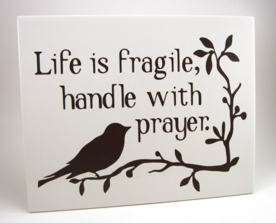 Life is fragile Inspirational bible quotes, Words with