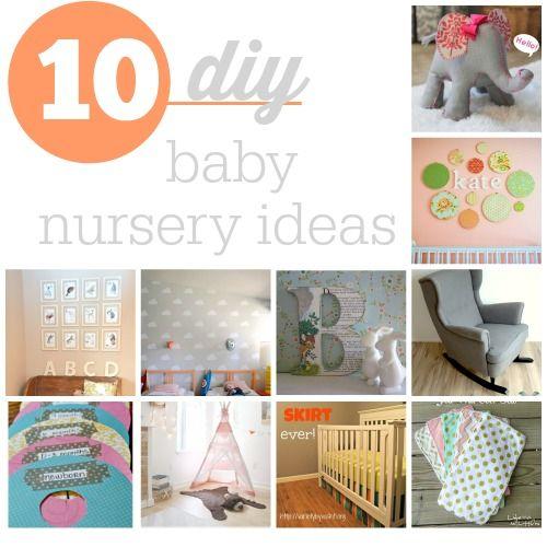 Lovely 10 DIY Baby Nursery Ideas For Boys And GirlsTop 10 DIY Baby Nursery Ideas  Baby Nurseries Ideas And Diy Baby