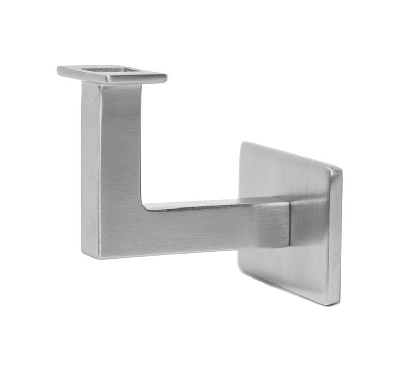 Best Stainless Steel Handrail Wall Bracket Square For Flat 400 x 300