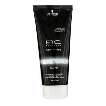 Schwarzkopf Bonacure Fibre Force BC Fibre Force Shampoo (For Extremely Damaged Hair)
