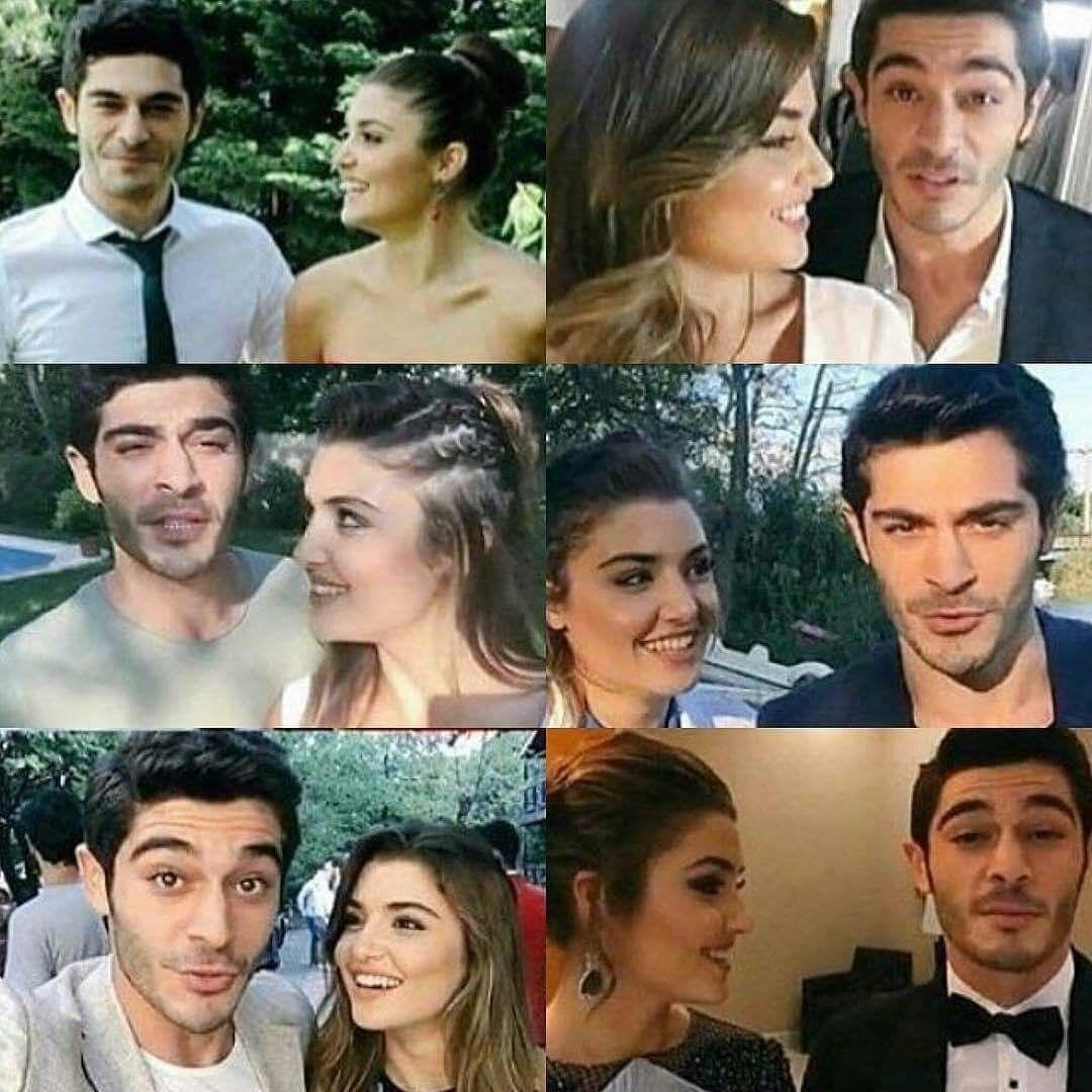 THE WAY SHE LOOKS AT HIM SO CUTE | Hayat and murat, Cute love ...
