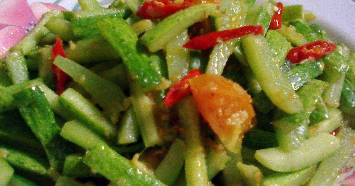 Resep Tumis Mentimun Resep Masakan Indonesia Resep Resep Makanan