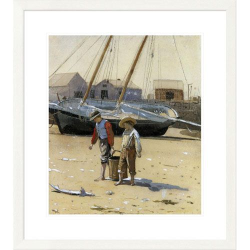 The Basket Of Clams 1873 By Winslow Homer, 30 X 26-Inch Wall Art