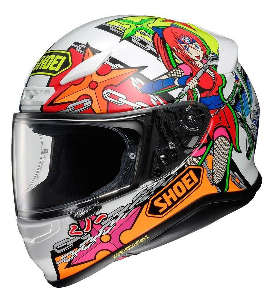 (eBay Advertisement) SHOEI NXR STIMULI TC10 full face