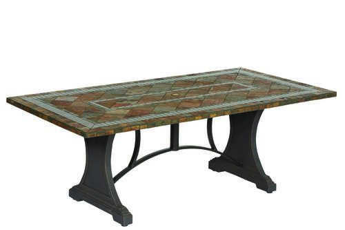 Backyard Creations Reg Yukon Slate Tabletop Backyard Creations Patio Table Dream Backyard
