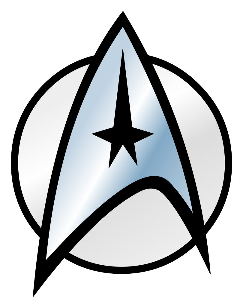 starfleet sticker rectangle star trek tattoo star trek and trek rh pinterest com star trek enterprise clipart star trek borg clipart