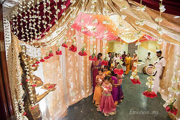 Hindu Telugu Wedding Ceremony At Bangunan Peladang Praveen Megala