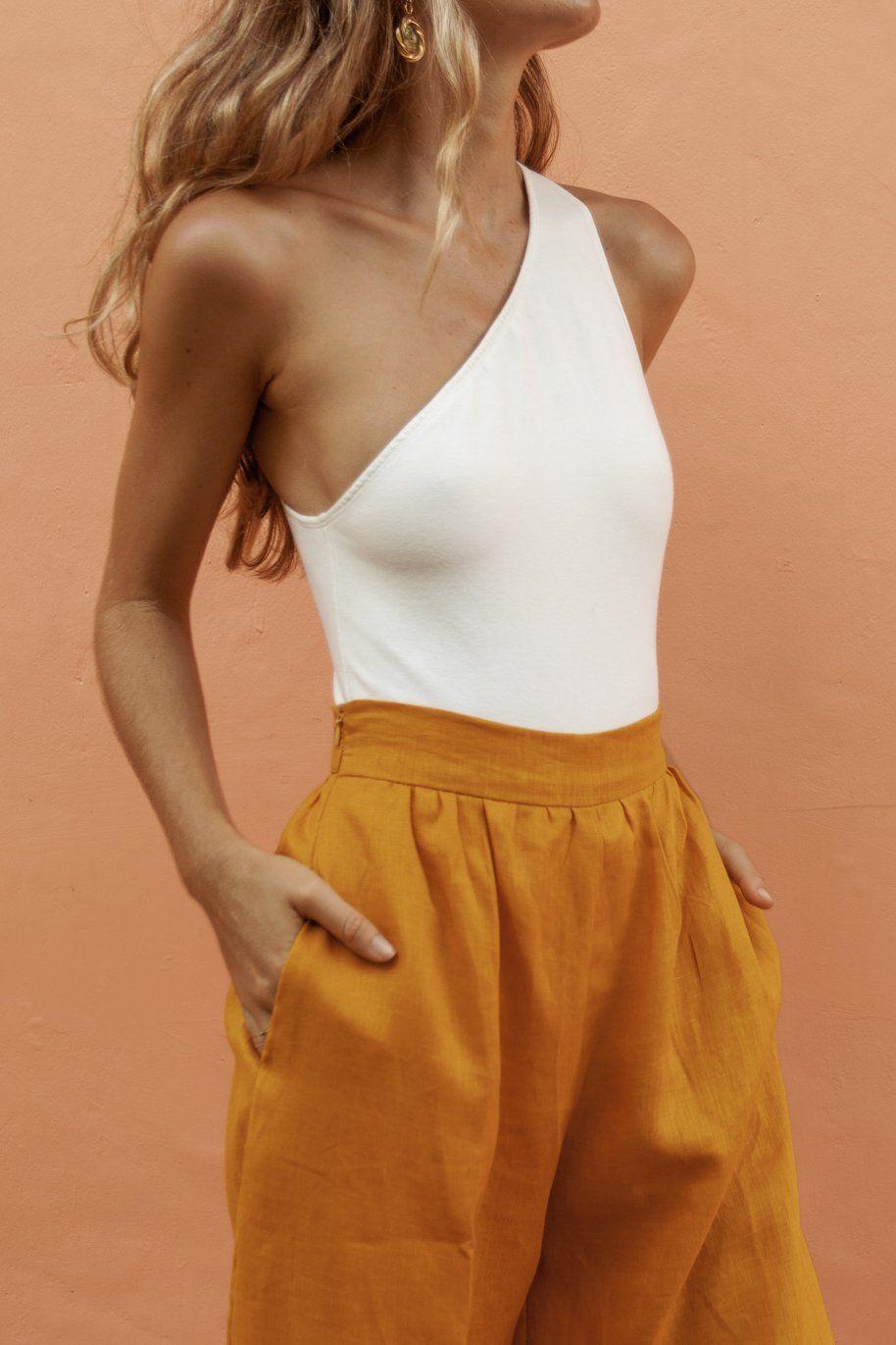 Philomena bodysuit white Bodysuit, Summer outfits, Fashion
