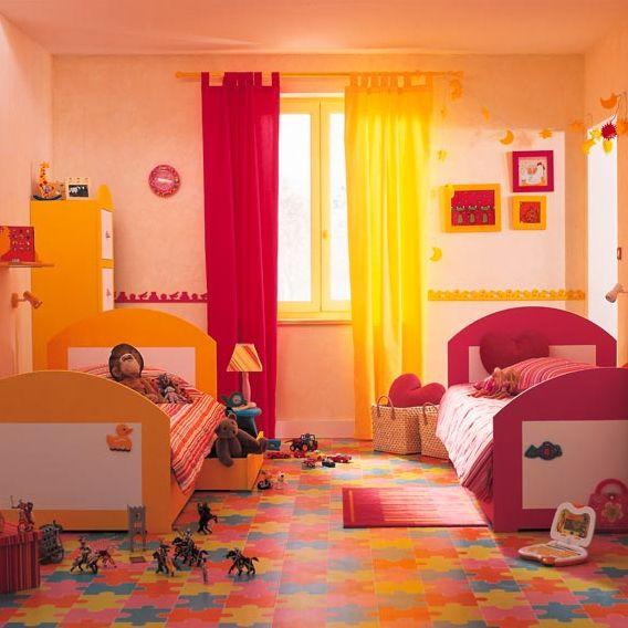 Dormitorios compartidos para niño y niña | Decorar tu casa ...