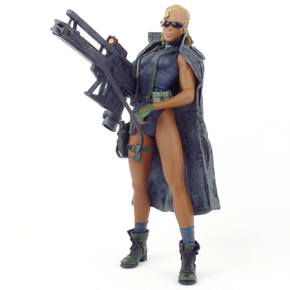 """2001 MCFARLANE TOYS 6/"""" METAL GEAR SOLID 2 SONS OF LIBERTY FORTUNE ACTION FIGURE"""