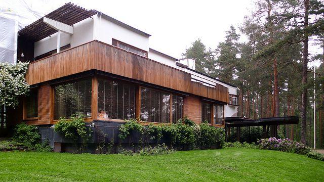 Villa mairea alvar aalto fonte archdaily it post 03 madeira estilo escandinavo - Villa mairea alvar aalto ...