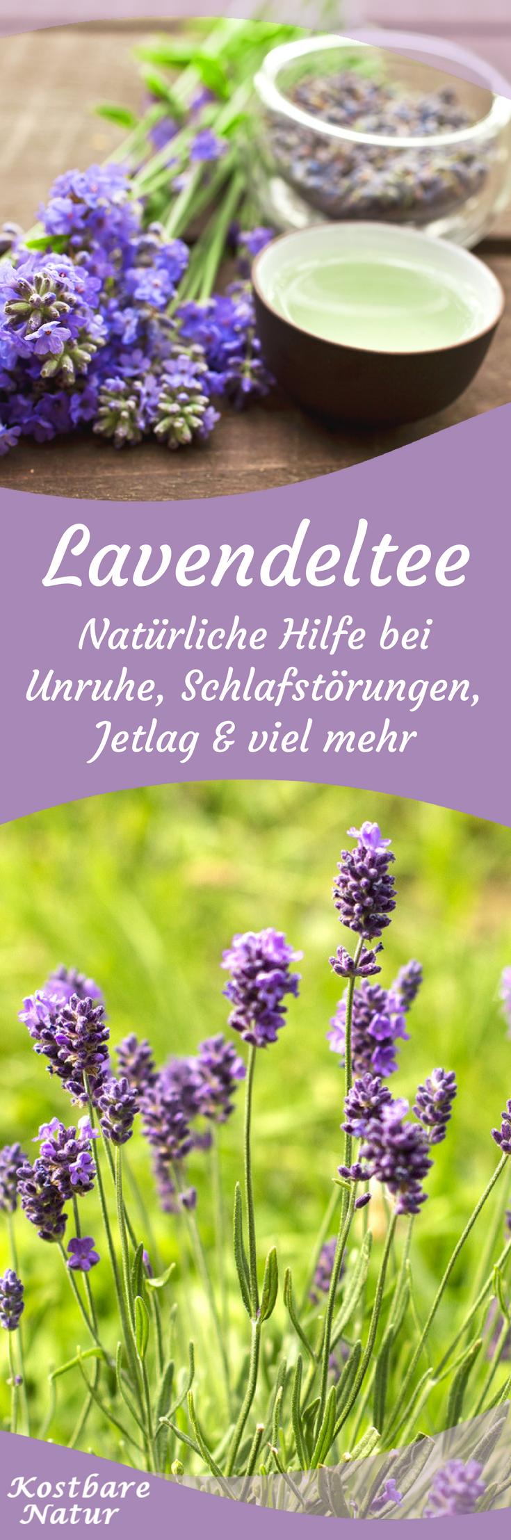Lavendel Tee Selber Machen : lavendeltee beruhigt hilft beim einschlafen unruhe und mehr gesundheit pinterest ~ Frokenaadalensverden.com Haus und Dekorationen