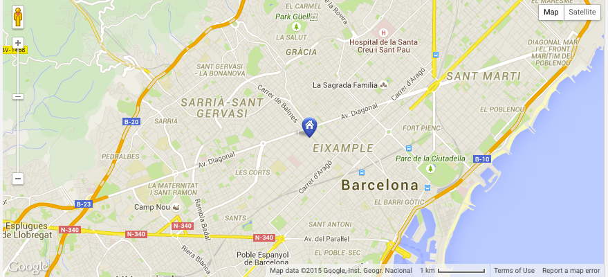 Check Out Apartment Location Little House Symbol Our Barcelona