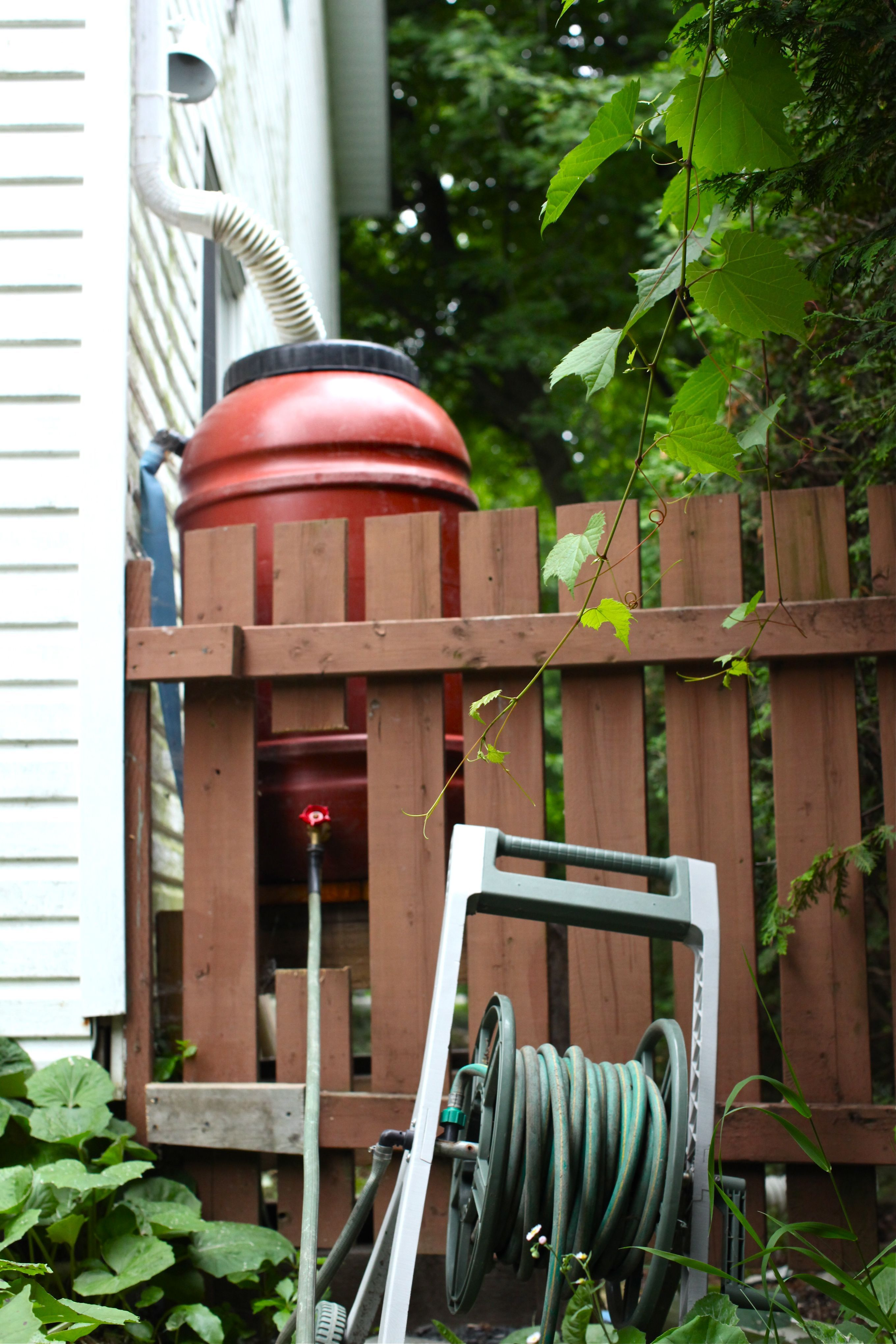 someday, i will want to move the rain barrel off the deck and when i ...
