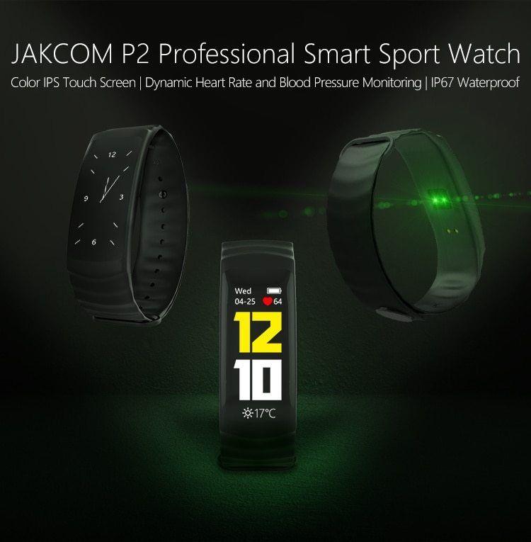 Jakcom P2 Professional Smart Sport Watch Hot Sale In Wristbands As