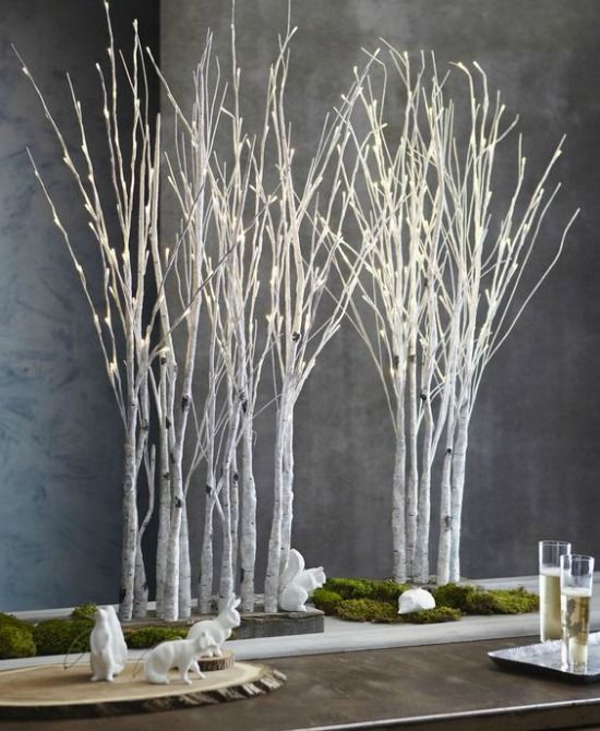 stunning contemporary christmas decoration ideas - Contemporary Christmas Decorations