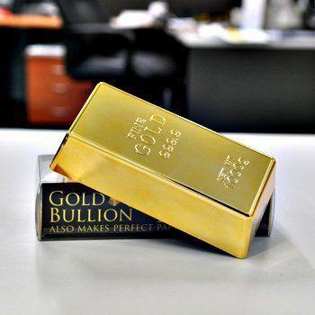 Gold Bar Door Stop By Msp Http Www Amazon Com Dp B002joiuj8 Ref Cm Sw R Pi Dp Qjjirb1emn5s5 Door Stop Paper Weights Gold Bar