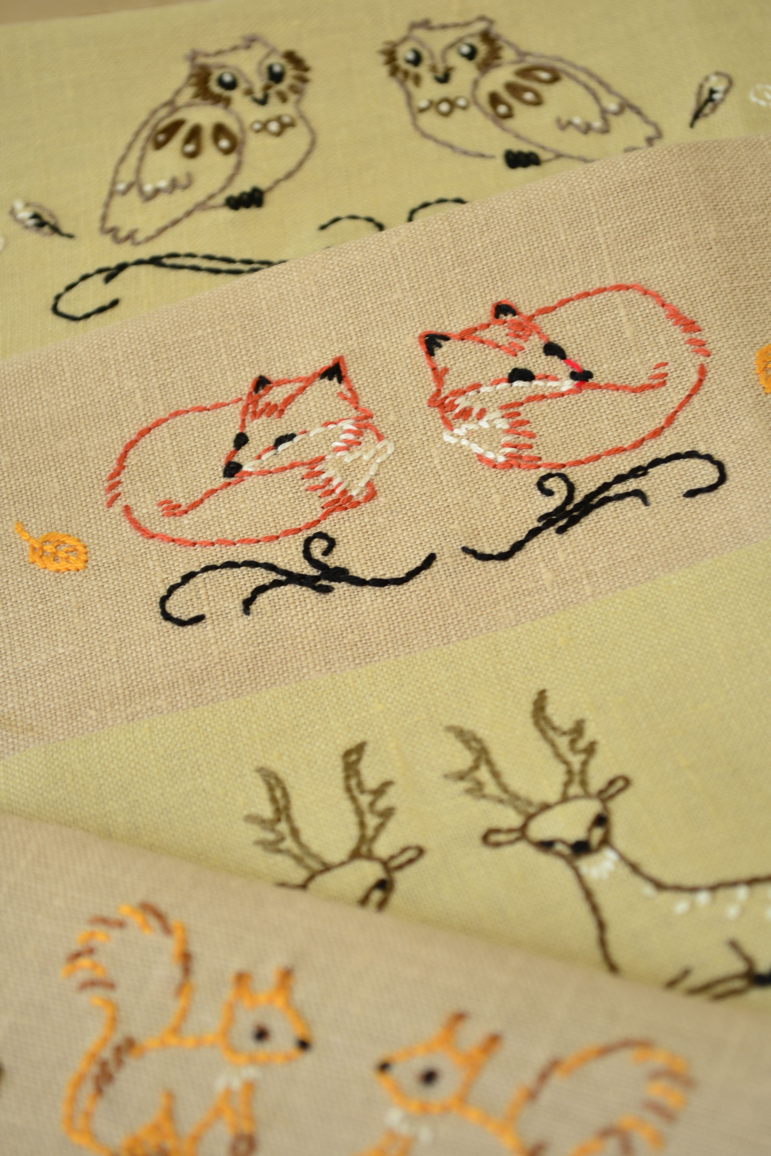 Hand Embroidery Patterns Embroidery Pattern Pdf Embroidery Animals