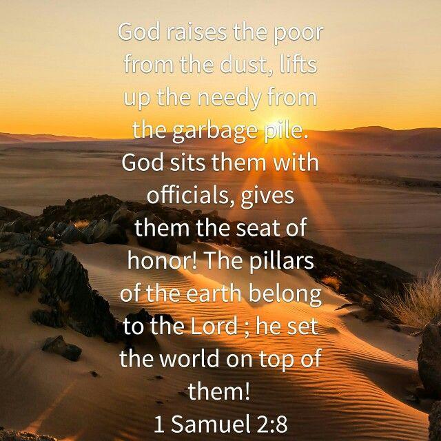 1 Samuel 2 8 Luke 9 23 Bible The Poor