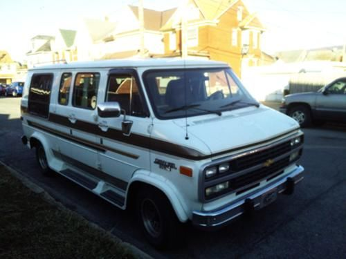 For Sale 1992 Chevy G20 Tiara Conversion Van 814 932 8393