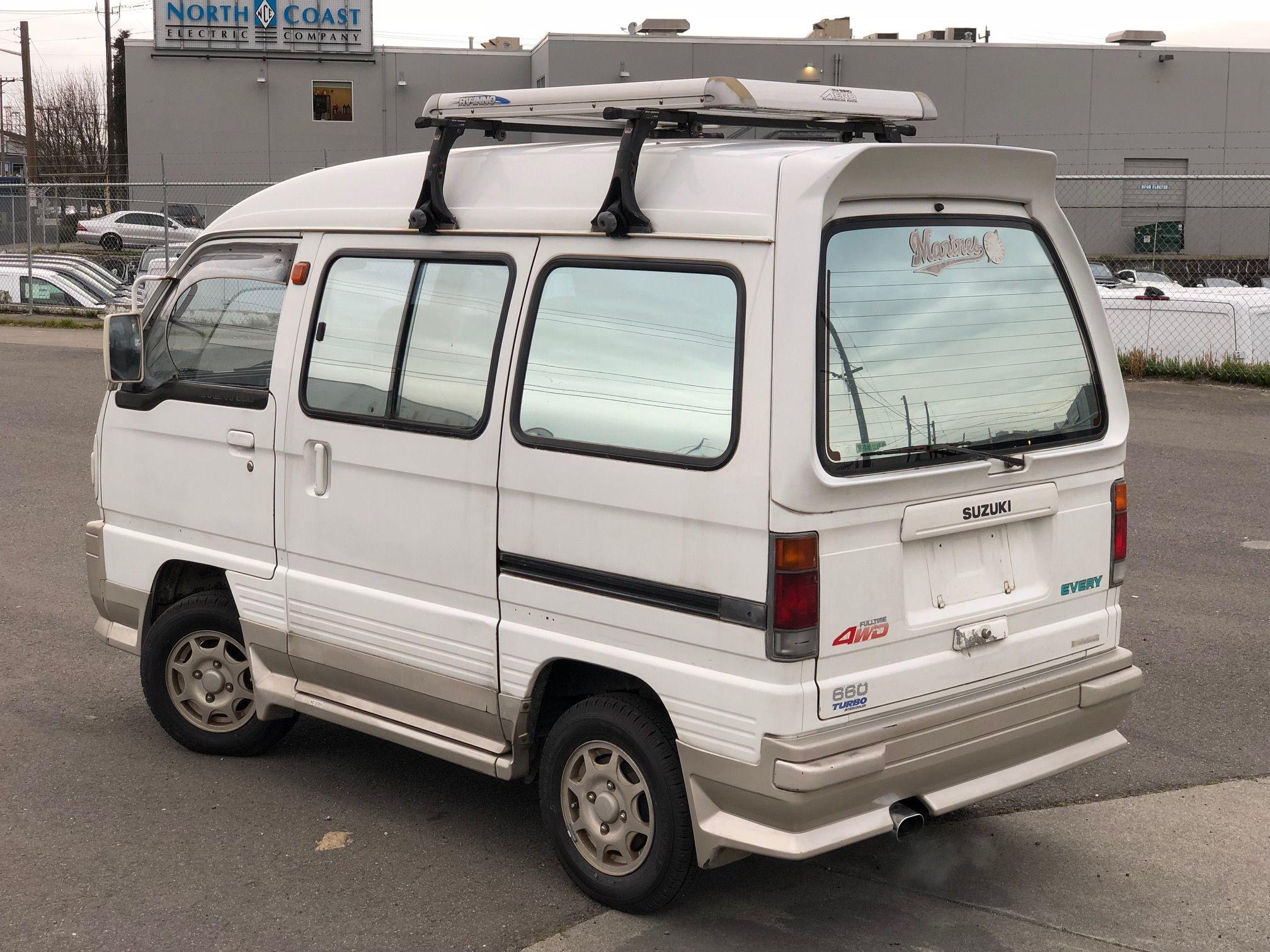 Pin By Coco Iraula On Carry Suzuki Carry Truck Accesories Mini Van