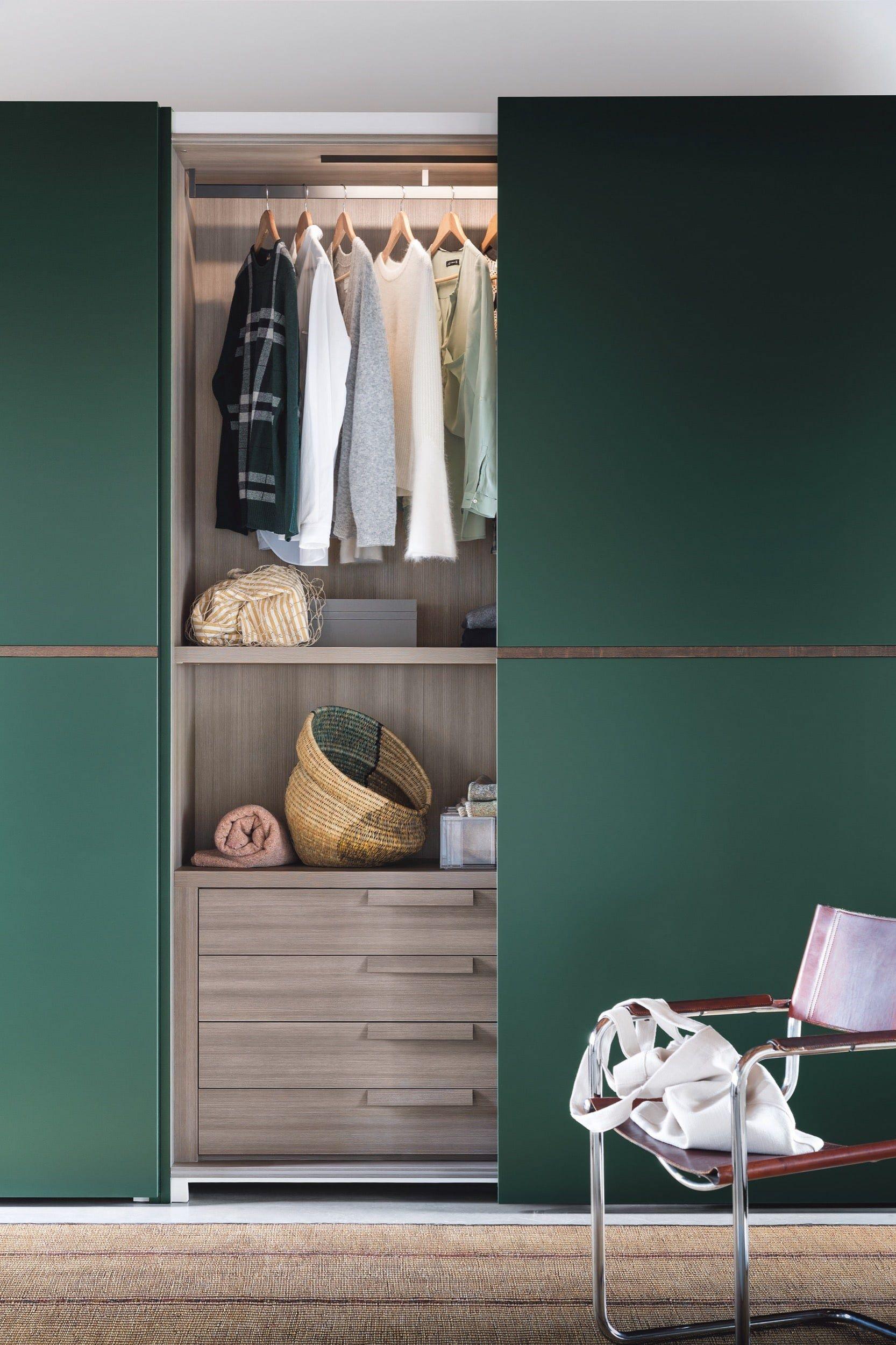 Middle Wardrobe With Coplanar Doors By Novamobili Victorian Terrace Interior Bedroom Decor Decor
