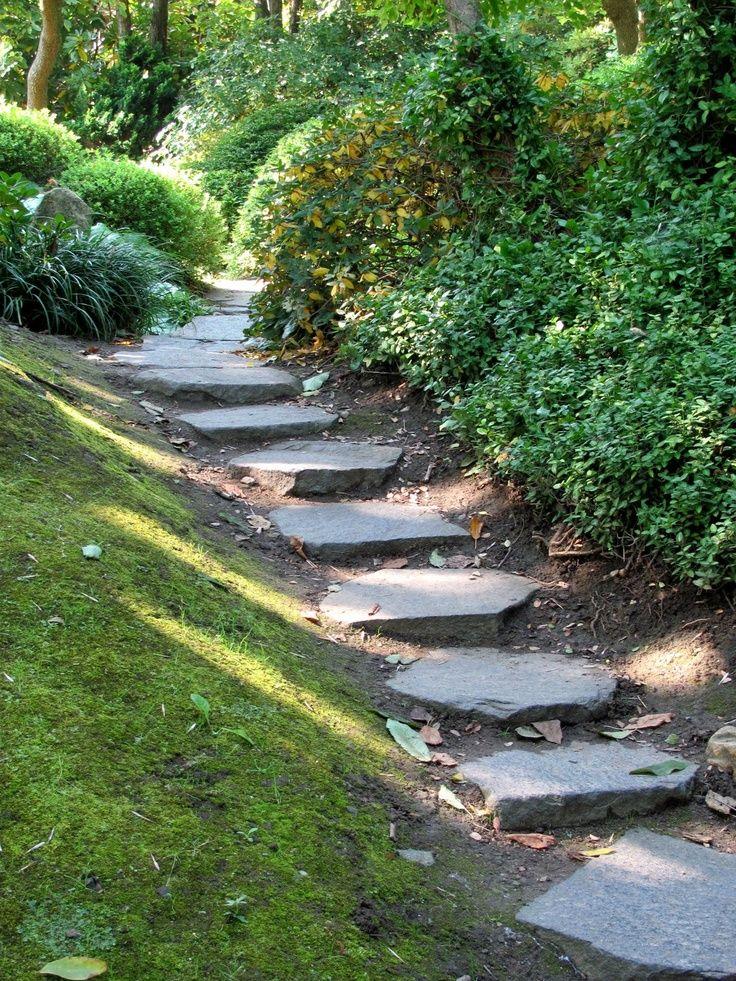 garden stairs Gardens Pinterest Escaleras de jardín, Escalera